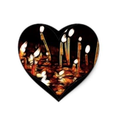Imágenes de cumpleaños con lindos corazones