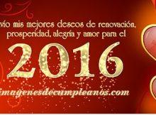 Feliz año nuevo 2016 para todo el Mundo