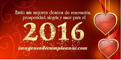 Feliz Año Nuevo 2016 para todo el mundo.